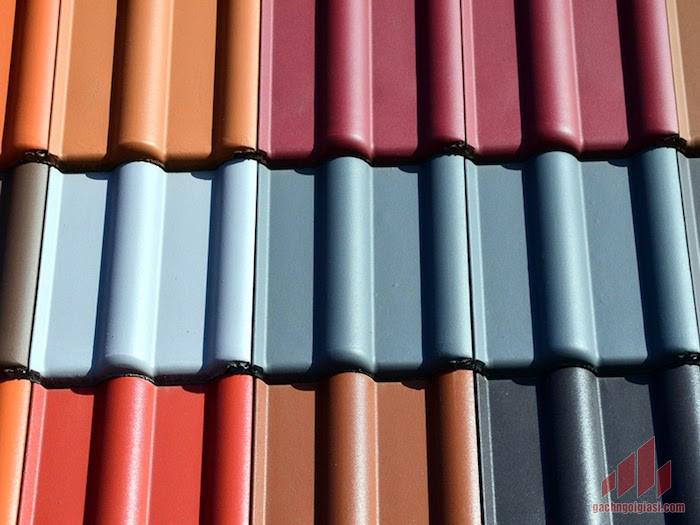 Ngói lợp nhà nhiều màu