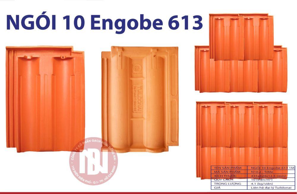 Ngói 10 Engobe 613 Đồng Nai